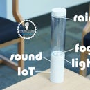 Storm Glass - the Weather Forecasting Lamp That Simulates Real Weather Conditions!