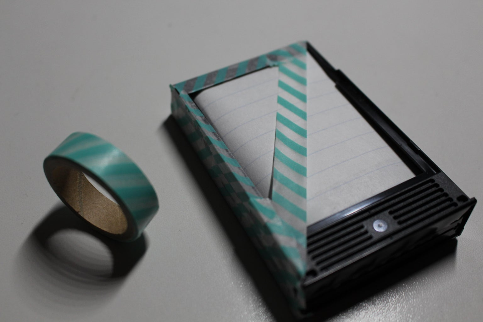 Tape Off Your Empty Cartridge