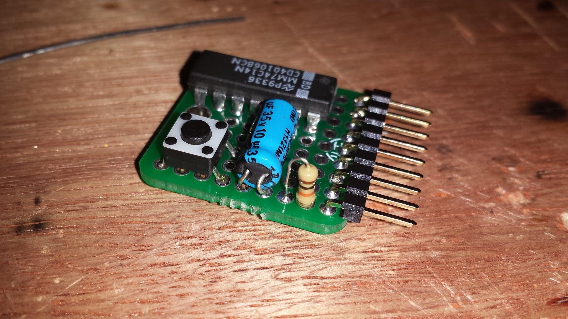 Debounced Button Mini-Shield