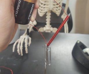 电池构建电磁铁