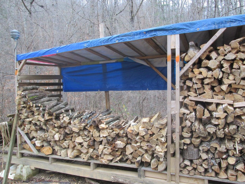 Bagging the The Firewood Bin