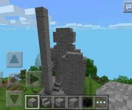 Minecraft Mithril's Statue