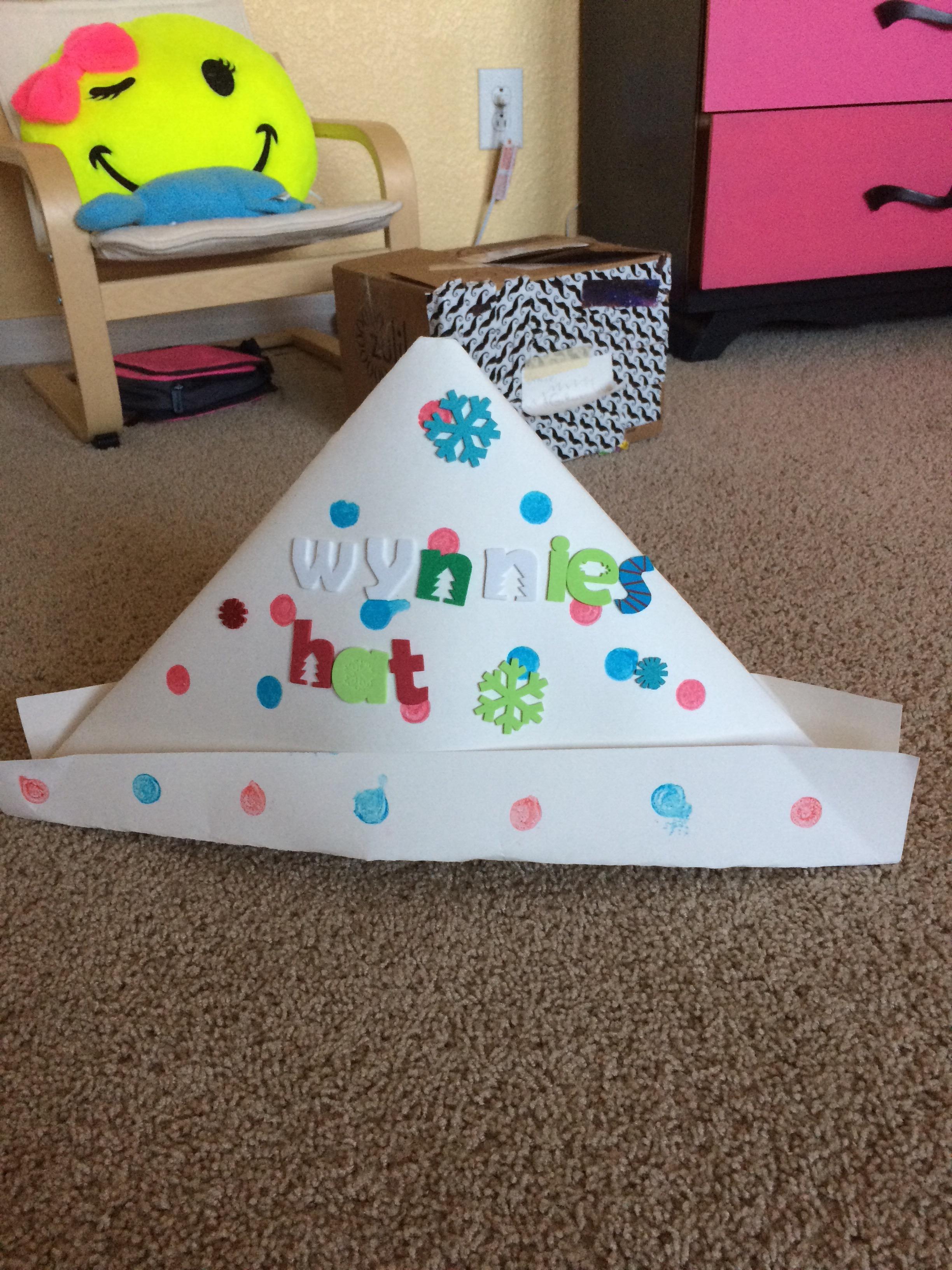 Paper Hats-easy