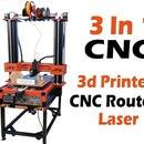 国产三合一数控(路由器、3D打印机和激光雕刻机)