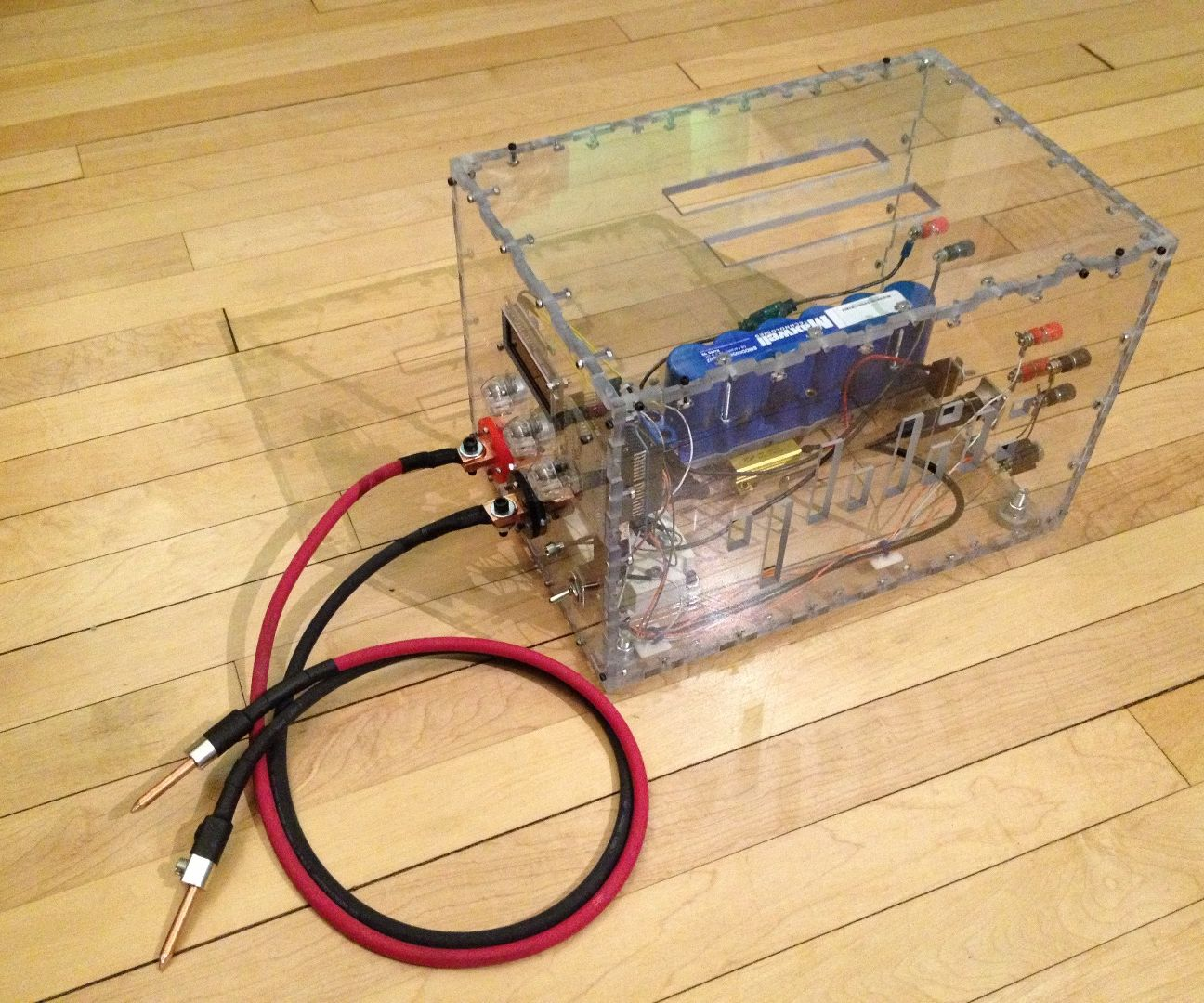 DIY Arduino Dual Pulse Capacitive Discharge Spot Welder