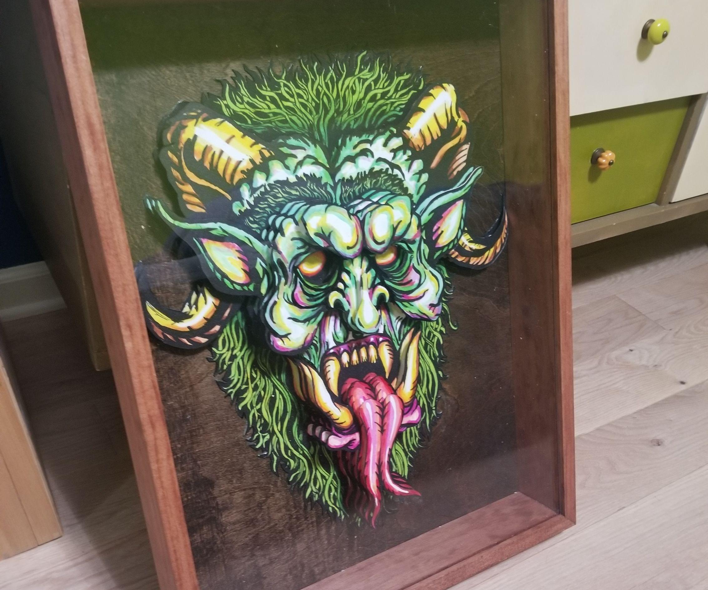 3d Face Artwork