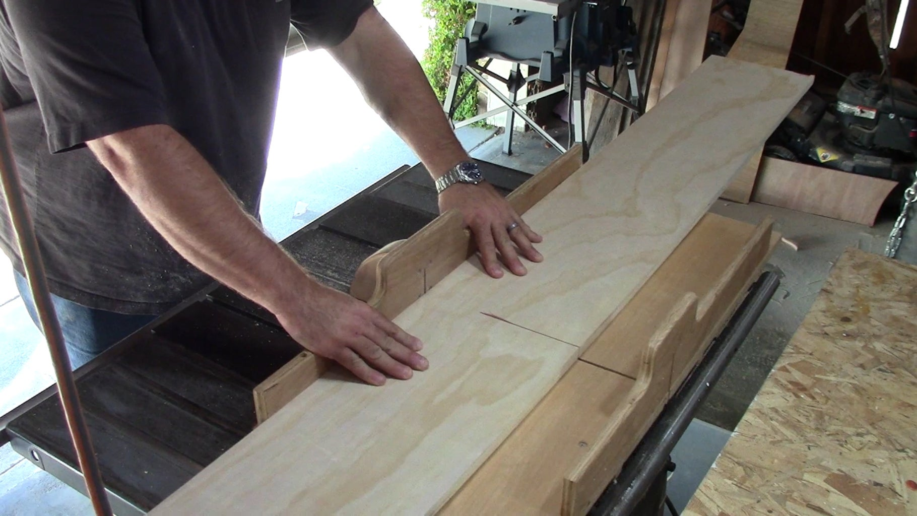 Make and Glue Up the Box Pieces and Edge Banding.
