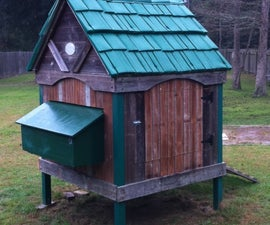 Chicken Coop From a Playhouse