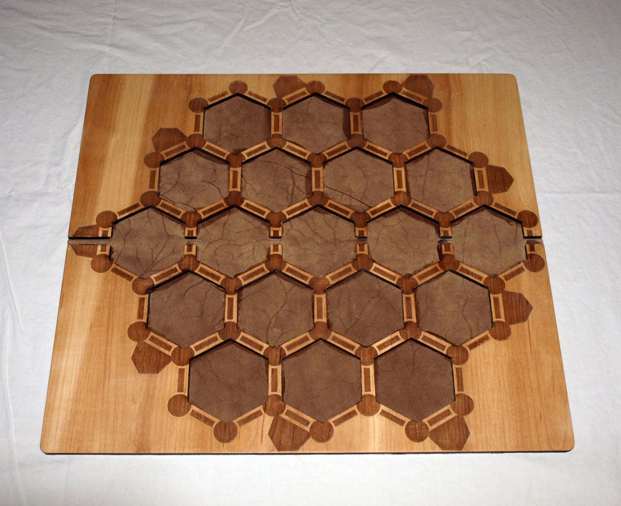 Custom Laser Cut Catan Board