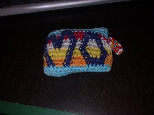 Easy Crochet Key Holder