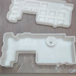DIY 6-Button Silicone Rubber Keypad