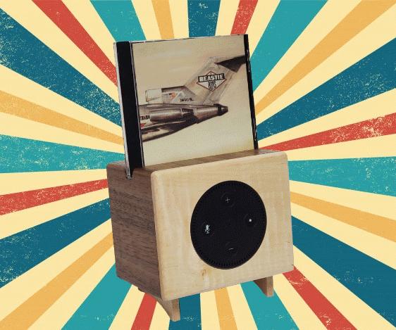 Retro CD/Spotify/Alexa Player