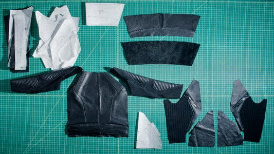 SEWING LEATHER PIECES TOGETHER