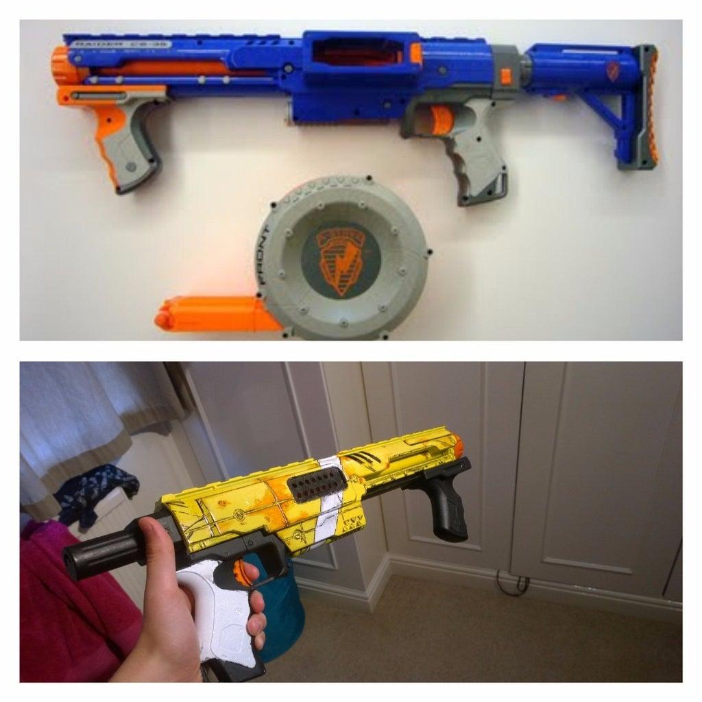 Borderlands Style Nerf Gun