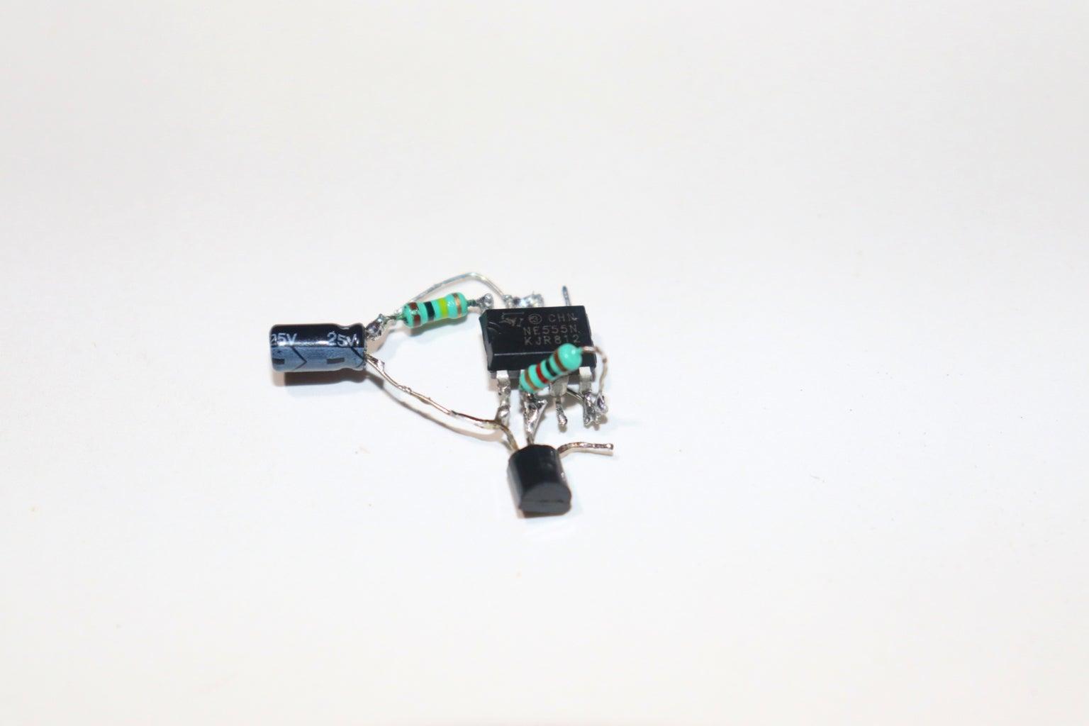 Connect 1K Resistor
