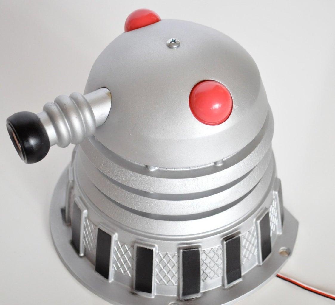 Motorizing the Doctor Who Pinball Dalek