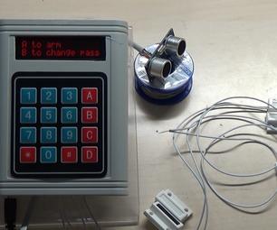 Arduino Password Security System With Magnetic Door Sensors