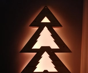 Christmas Tree From Recycled Pallet
