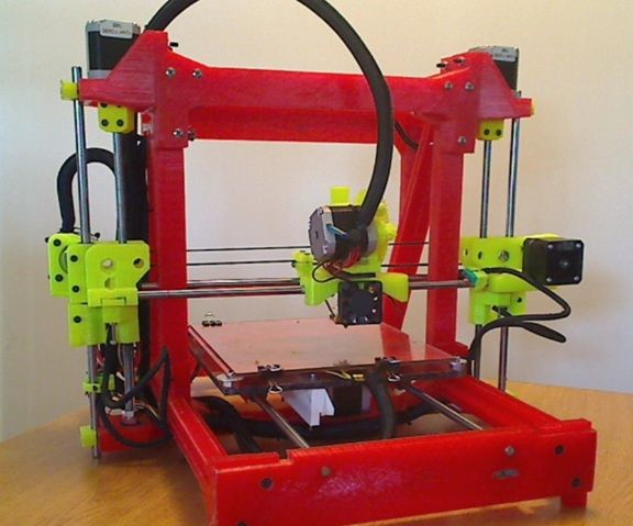 Long Bed Printed 3d Printer