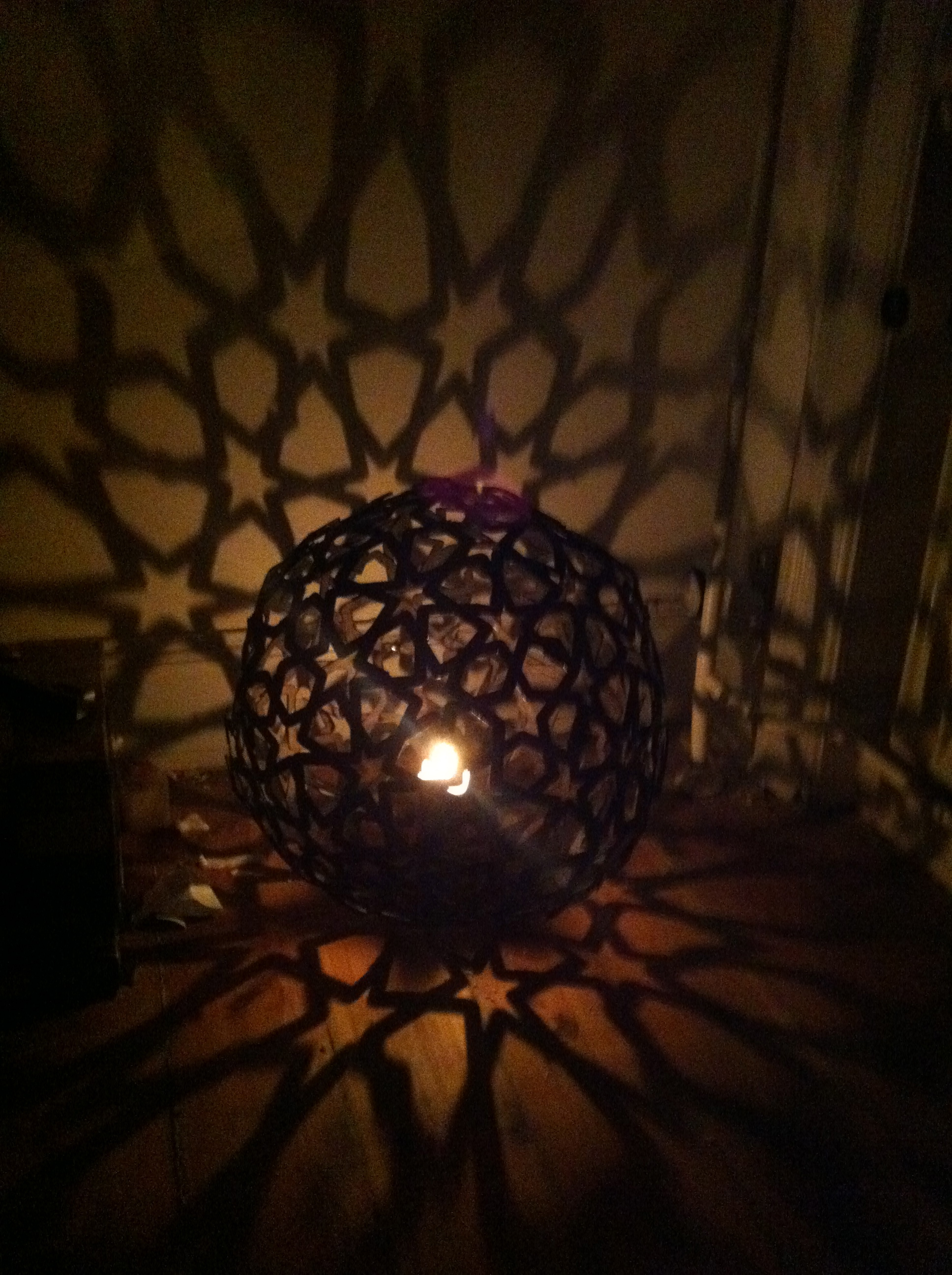 Star Pattern Lamp