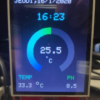 Arduino Analogue 'ring' Meter on Colour TFT Display