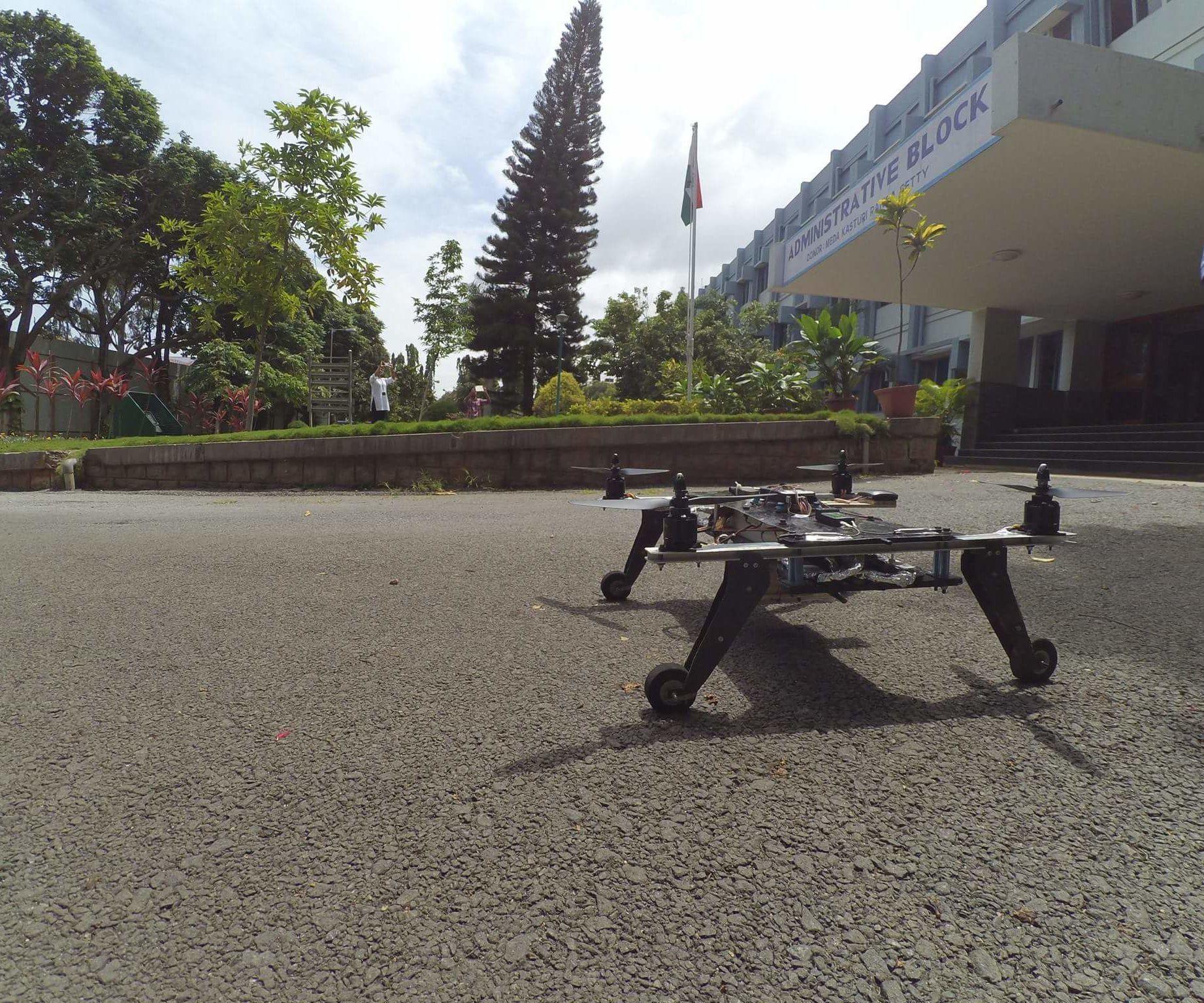 TERMINATOR: a do it all drone!