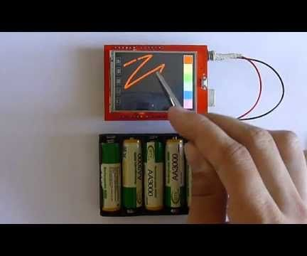 """2.4"""" TFT LCD Touch Shield Arduino"""