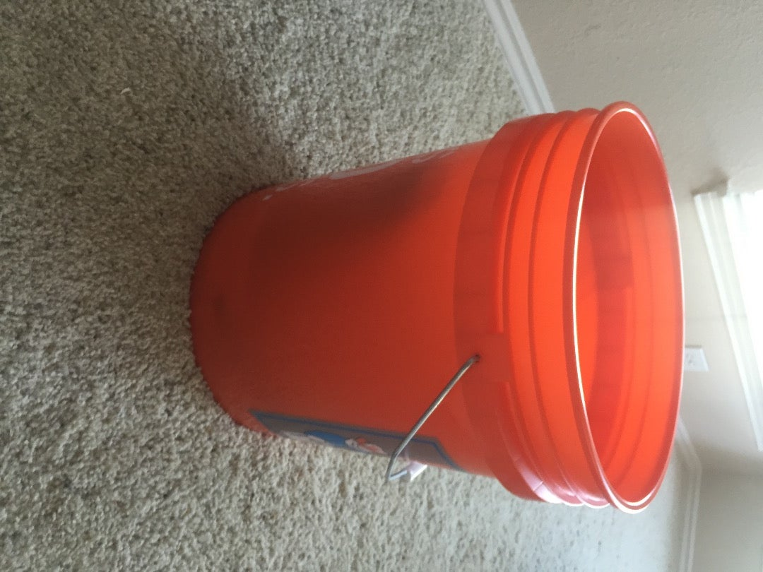 Bucket and PVC Size