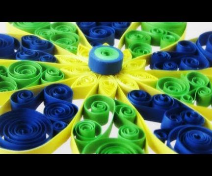 Paper Quilling Flower for decoration