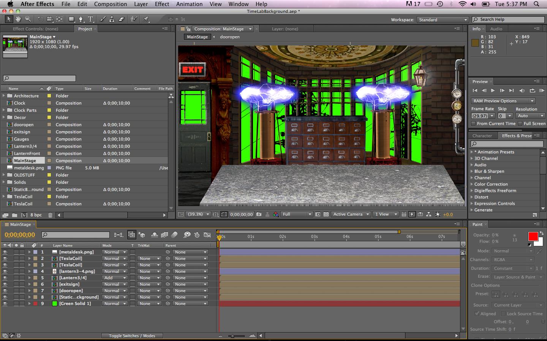 Make a (2-D) Virtual Stage