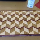 3-D Cutting Board-I Made it at Tech Shop
