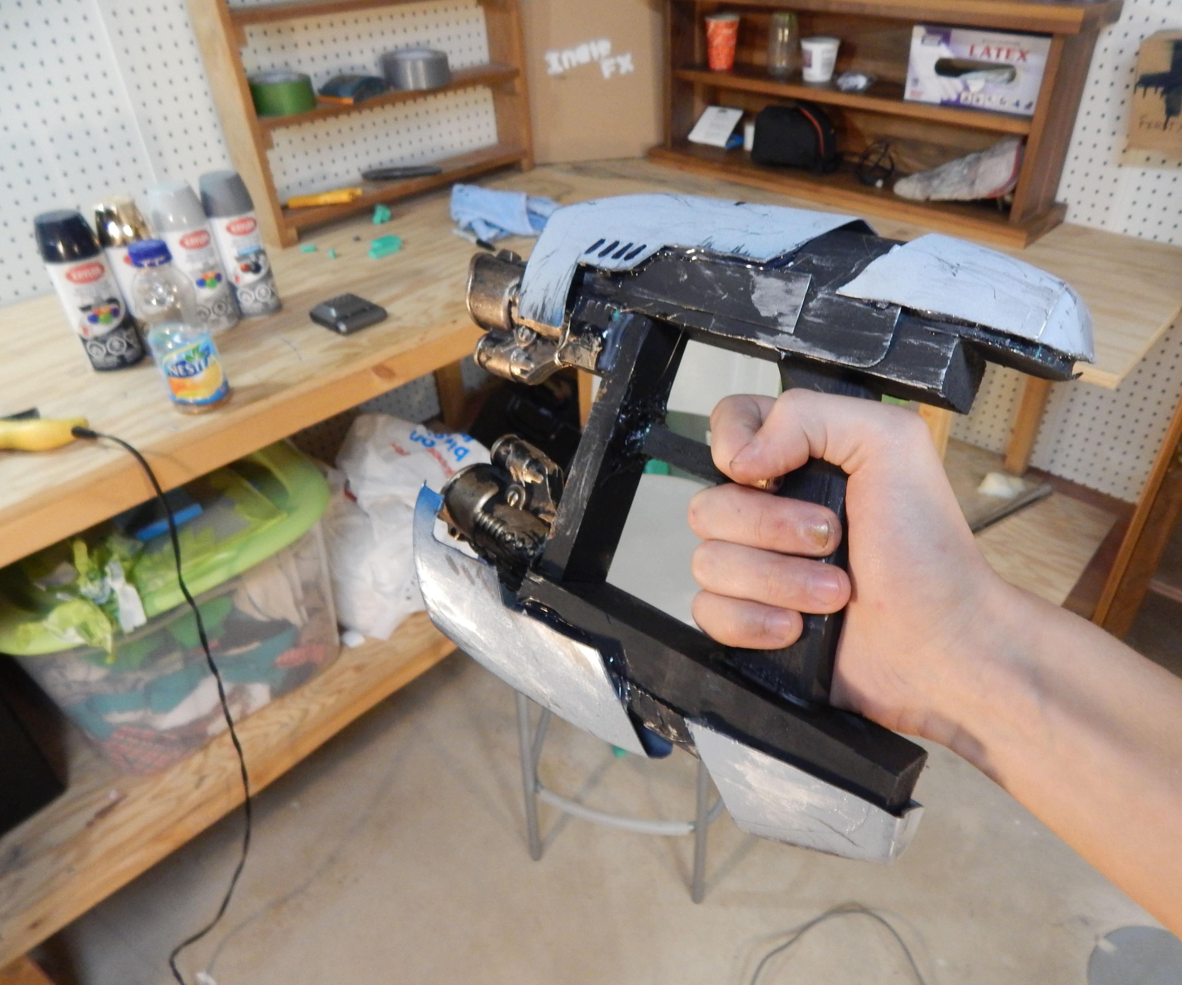 Guardians Of The Galaxy Sci-Fi Blasters : DIY Tutorial : IFX
