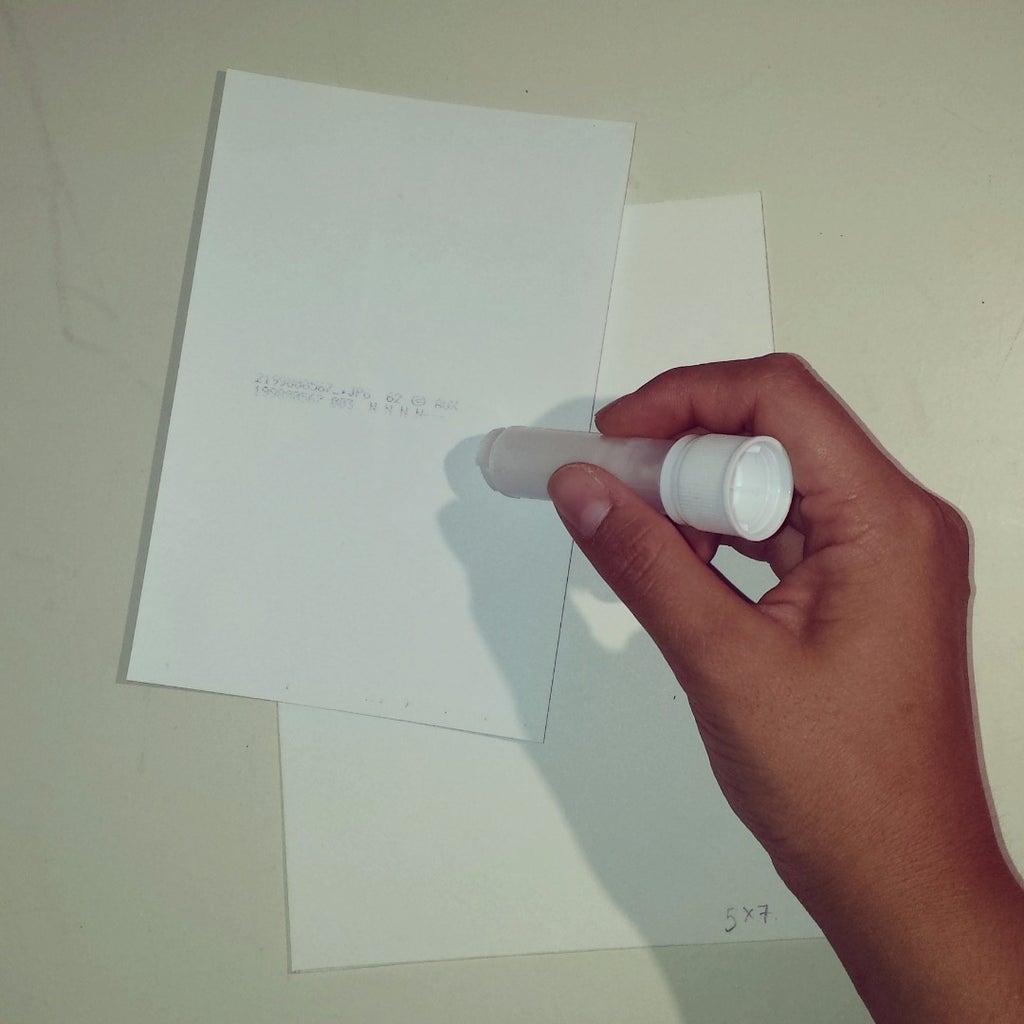 Glue the Photograph