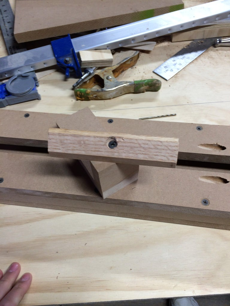 Making the Lathe Bed