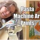 Pasta Maker Printmaking Machine