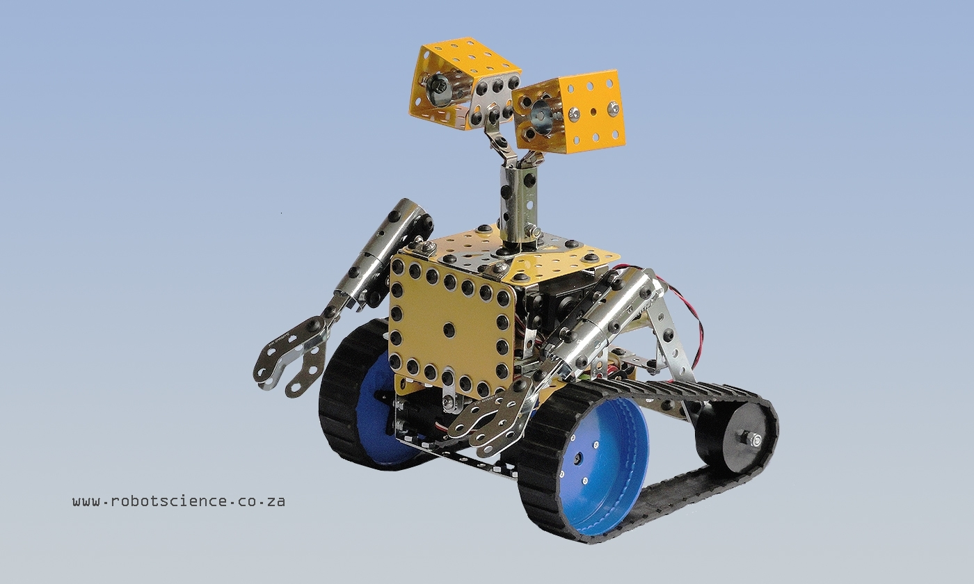 robot with microcontroller