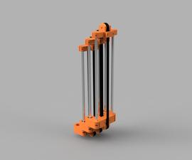 3D Printable Cascading Linear Slide