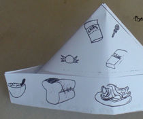 The happiness paper hat