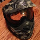 How To Camouflage A Paintball/ Airsoft Mask