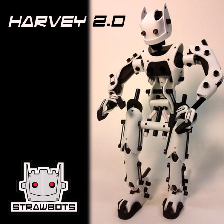 Strawbots: Harvey 2.0