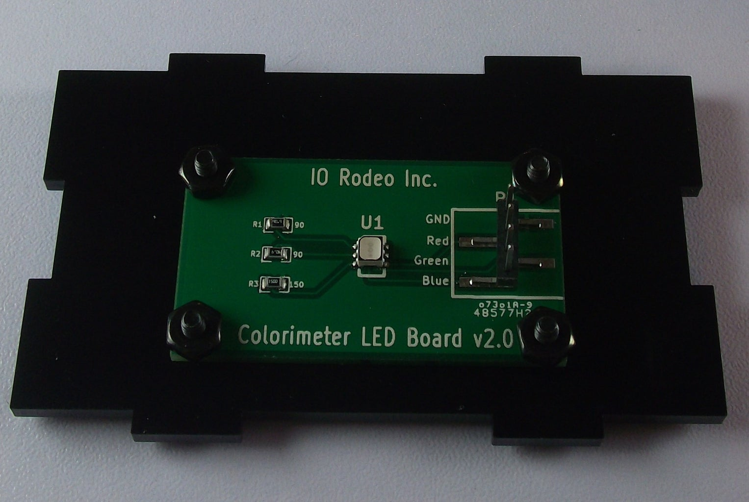 Mount and Connect the Colorimeter Sensor and LED Boards