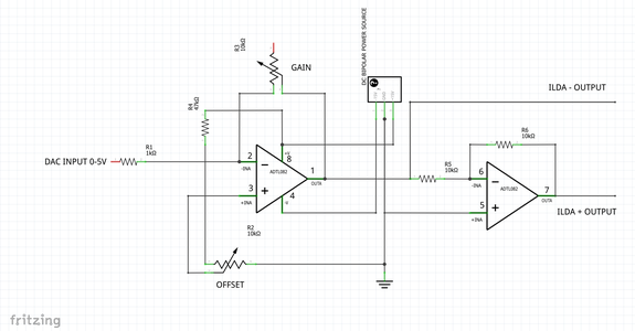 Bipolar Signal With Opamps