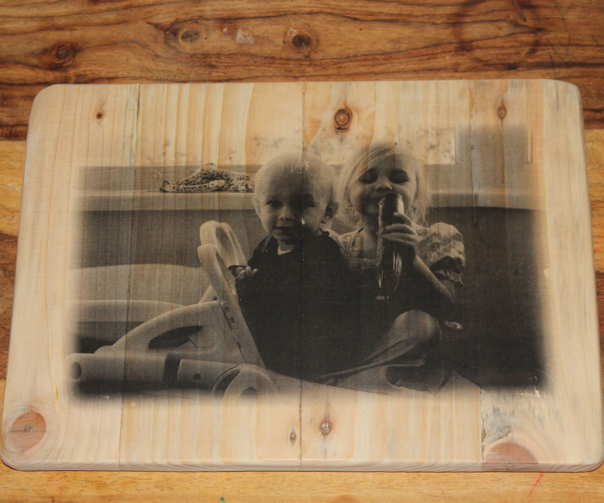 Transfer Photograph onto Wood