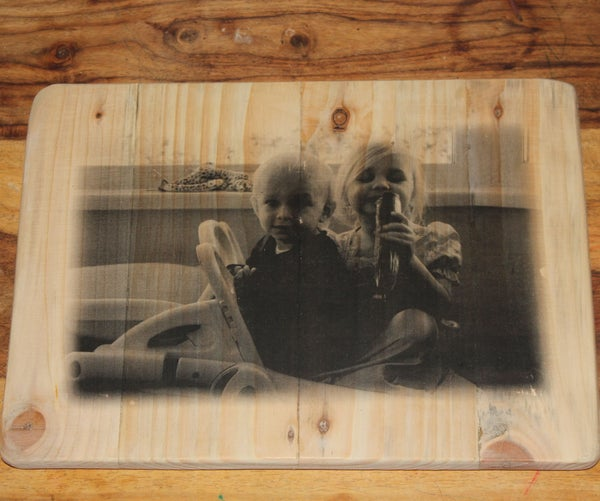 Transfer Photograph Onto Wood