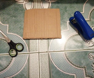Ironman Repulsor Out of Cardboard
