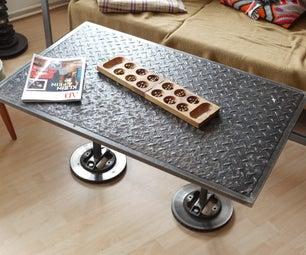 Dieselpunk Full Metal Coffee Table