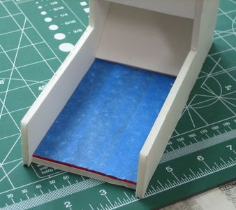 Cut and Install the Felt and Then the Tray Front Piece