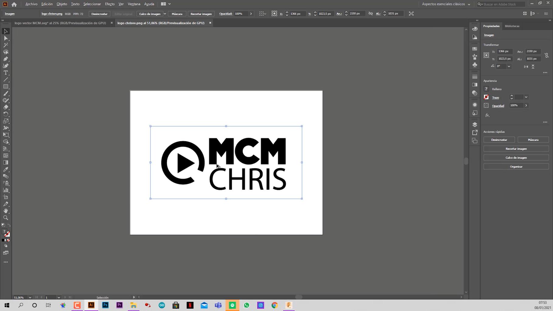 Vectorizing Your Logo