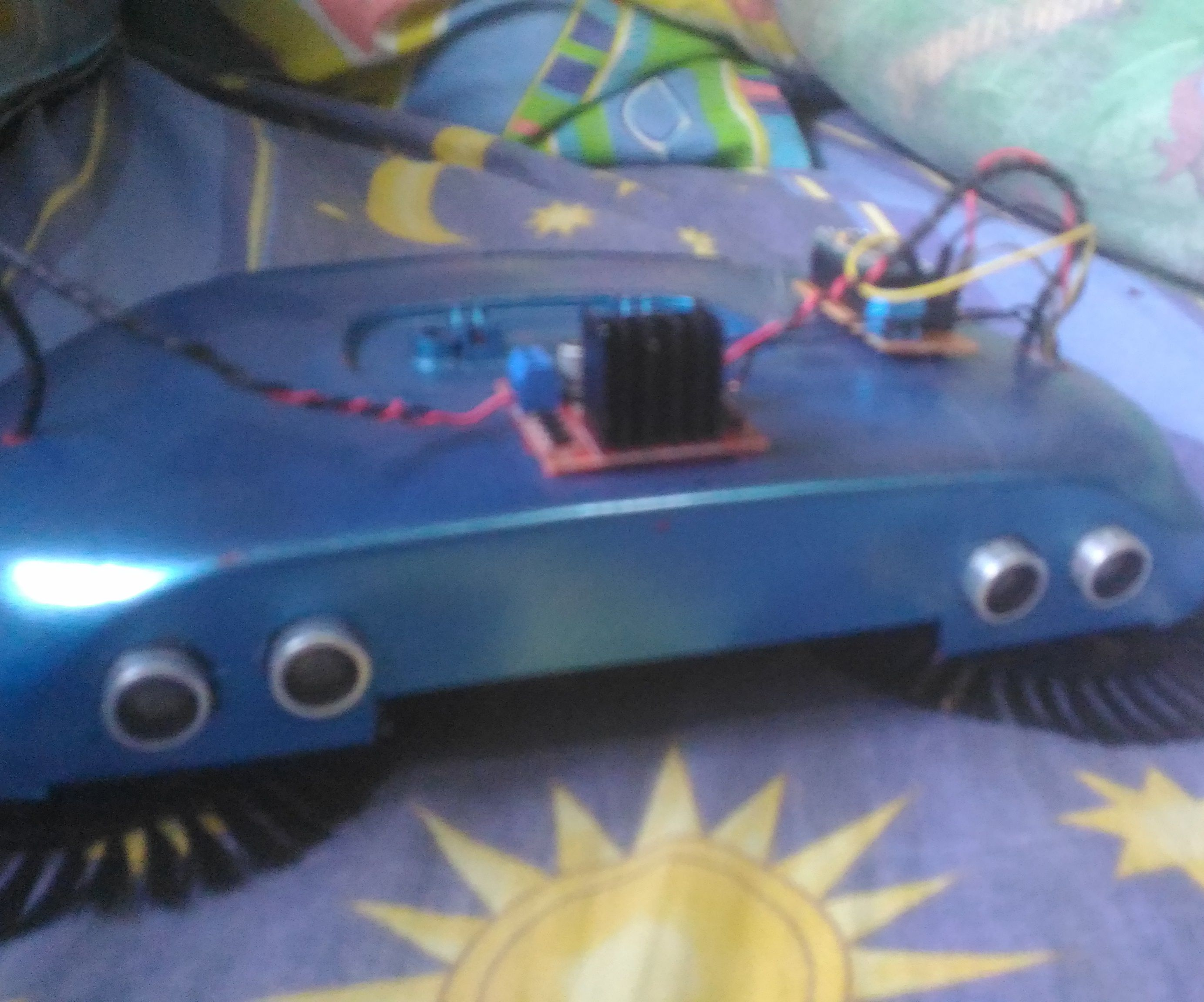 Arduino Powered Automatic Sweeper