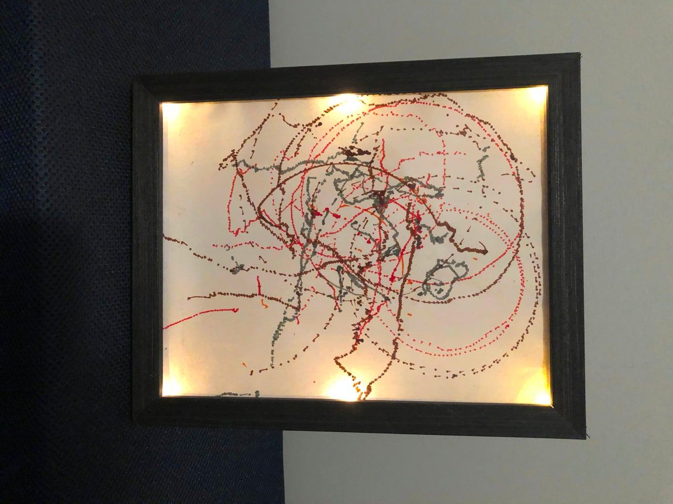 Light Up Picture Frame